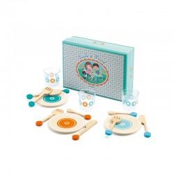 Lucile & Marcel (Set vaisselle pour 3)