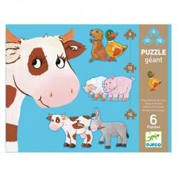 Puzzle Géant : Paquerette et ses amis