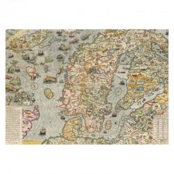 Carte Marine 1572 (Magnus&Lafréry)