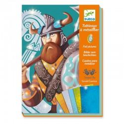 Tableaux de métal: Les Vikings