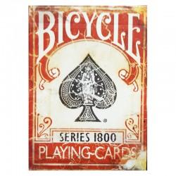 Bicycle : 1800 series rouge