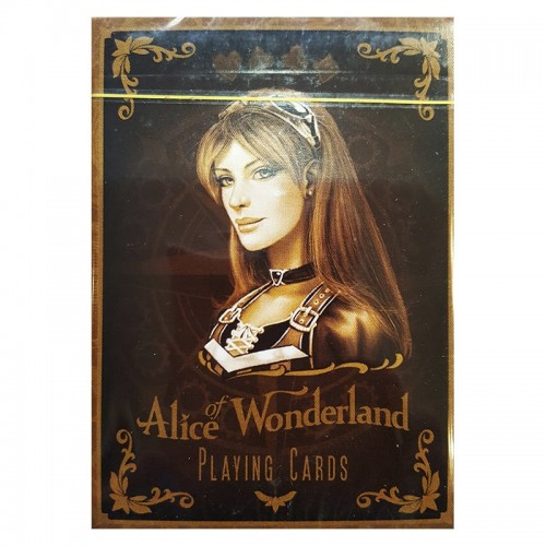 Cartes USPC Alice of Wonderland Or