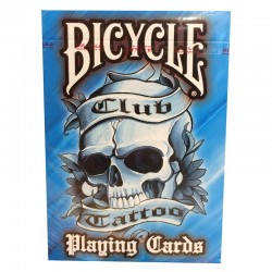 Bicycle : Club Tatoo Bleu