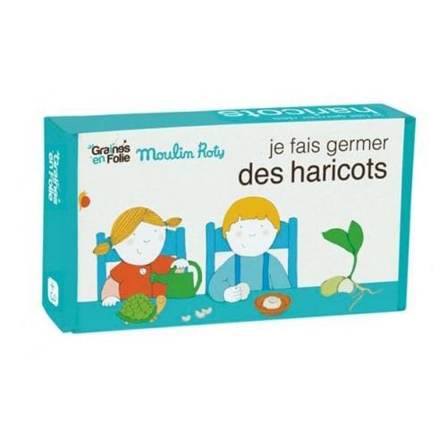 Kit germination haricots verts (Jardin du Moulin)