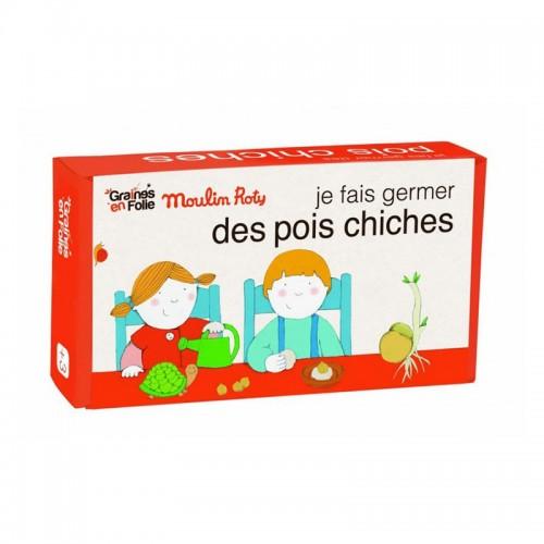 Kit germination pois chiches (Jardin du Moulin)