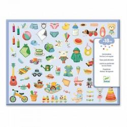Stickers : mon petit monde