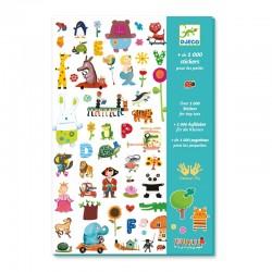 Set de 1000 stickers pour les petits