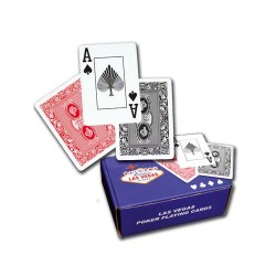 Cartes Poker 100% plastique éco
