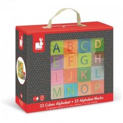 Kubkid Alphabet - 32 cubes