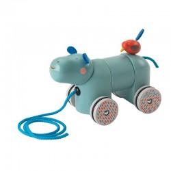 Hippopotame à tirer (Les Papoum)