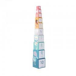 Cubes empilables (Les Jolis trop beaux)