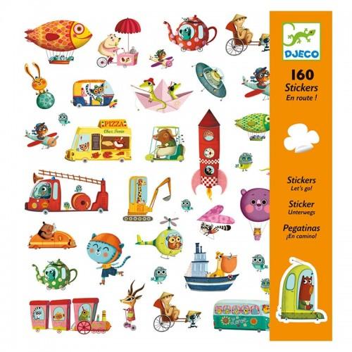 160 Stickers : En route !