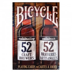 Cartes Bicycle : 52 Craft Brewers