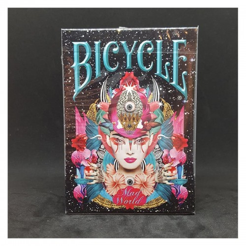 Cartes Bicycle Mad World
