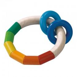 Hochet anneau