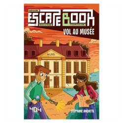 Escape Book Junior Vol au Musee