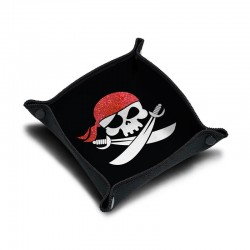 Piste de dés néoprène Pirate Bandana