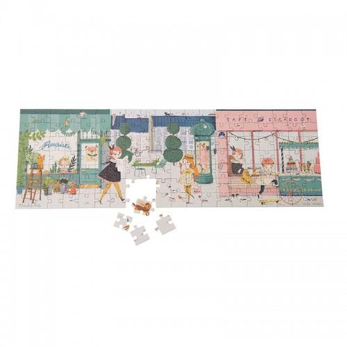 Puzzle Dans la rue (Les Parisiennes)