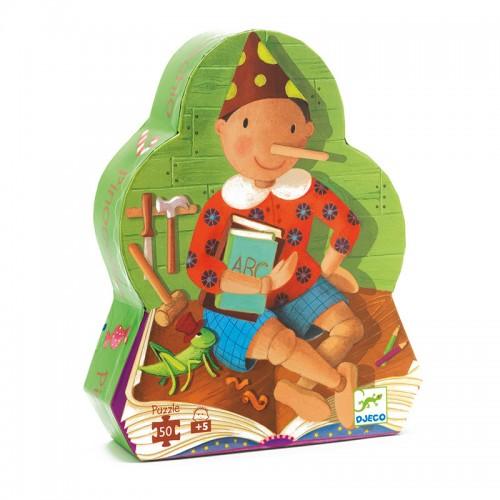 Puzzle silhouette : Pinocchio