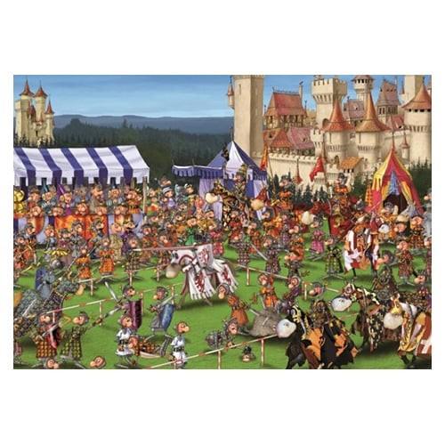 Puzzle Tournoi de chevaliers (Ruyer)