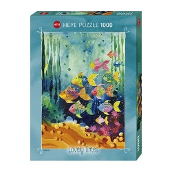 Puzzle Lovely times : Shoal of fish