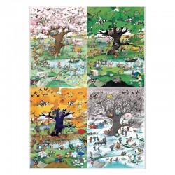 Puzzle 4 saisons (Blachon)