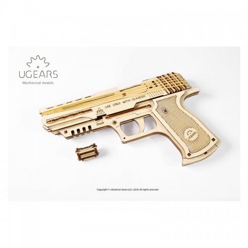 Ugears Pistolet WOLF-01
