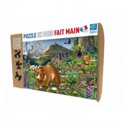 En montagne -Puzzle bois 100p