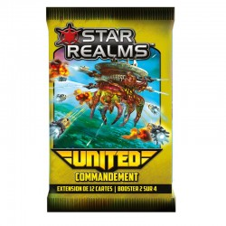 Star Realms : United - Commandement