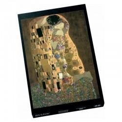 Puzzle métallique - Klimt le baiser