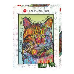 Puzzle Jolly Pets - If cats could talk