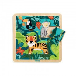 Puzzle bois puzzlo Jungle