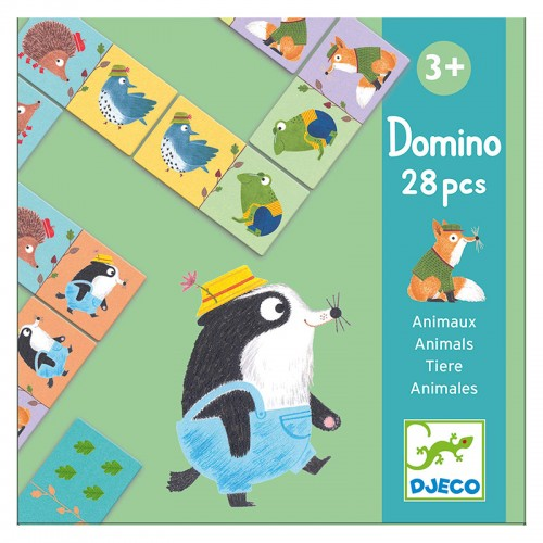 Domino animaux