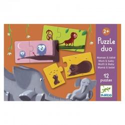 Puzzle duo : maman et bébé