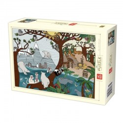 Puzzle D-toys nature Summer and Winter