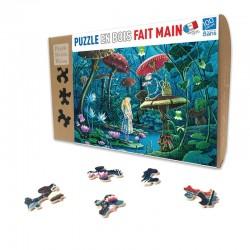 Puzzle bois - Alice au Pays des Merveilles