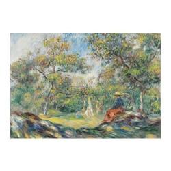 Woman in a Landscape 250pcs