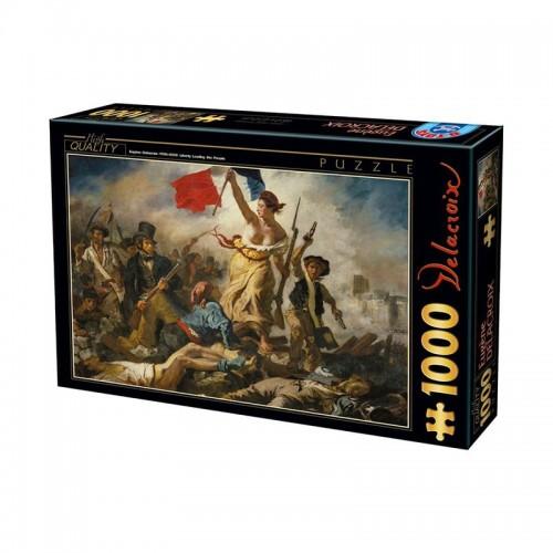 Puzzle La Liberté guidant le peuple (Delacroix)