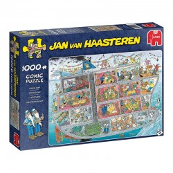 Bateau de croisière (Jan Van Haasteren)
