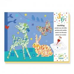 Peindre avec les billes : Défilé multicolore