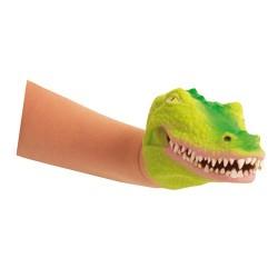 Marionnette souple crocodile
