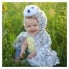 Cape hibou chouette 12/18 mois