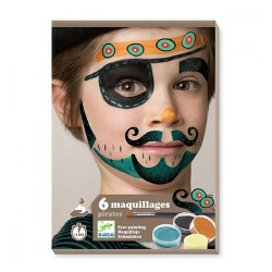 Coffret maquillage : Pirate