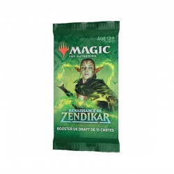 Magic the gathering : Booster La Renaissance de Zendikar