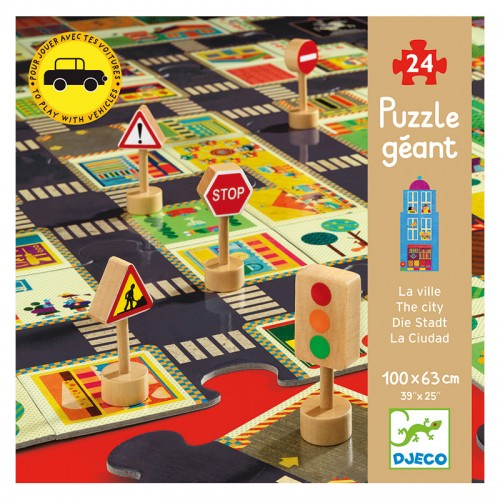 Puzzle Géant : La ville