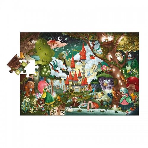 Puzzle géant : Château magique