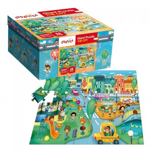 Puzzle géant : The City