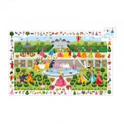 Puzzle Observation : Garden Party