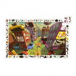 Puzzle Observation : Ville du futur