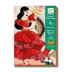 Cartes à frous frous Flamenco